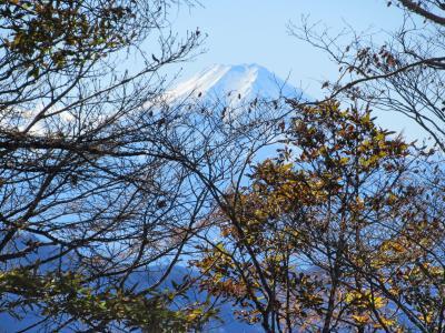 奥多摩・六ツ石山の紅葉