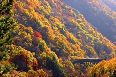 錦秋の中山道・贄川宿とJR中央西線沿線に広がる紅葉を探しに訪れてみた