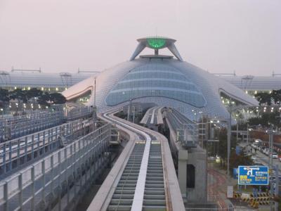 行って来ました 韓国旅行V トランジットで暇つぶし 磁気浮上鉄道