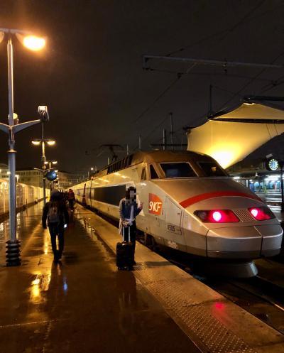 2019秋<10.27>パリ⇒トリノ<Gare.de.Lyon>06:29発☆TGV9241☆~[12:23]トリノP.S到着~