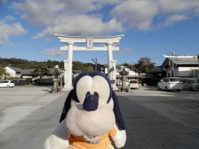 グーちゃん、赤湯温泉へ行く!(熊野大社/3匹のウサギで幸せをつかめ!編)