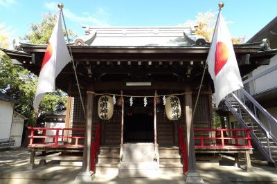 神明神社(川崎市中原区上小田中6)
