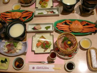 宇奈月温泉カニ食べ放題旅