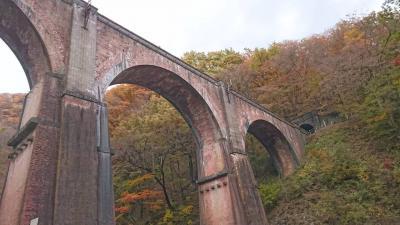 妙義山の紅葉と鉄道文化村、磯辺温泉の一泊小旅行