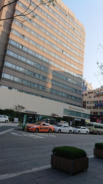 韓国65回目 ~ センターマークホテル (鐘路) ~