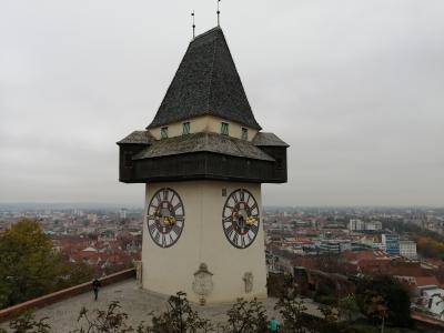 グラーツの時計台