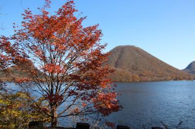 榛名湖・山の紅葉