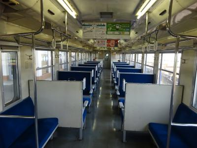 国鉄形キハに乗りに磐越西線へ【その2】 うまい具合に国鉄形車両に遭遇、磐越西線の景色を楽しむ