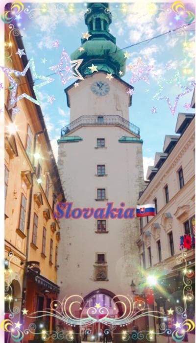 ヨーロッパ4ヶ国周遊⑤~スロバキア・ブラチスラヴァ~