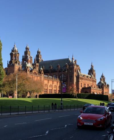 イギリス鉄道の旅 D5.  Glasgow 観光