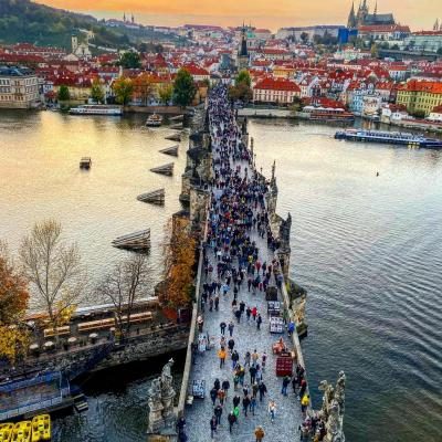 チェコ・プラハ旧市街1日観光旅行記