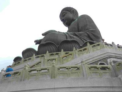 2019年9月夏休み 12 香港 街を避けてランタオ島へ行く その1 ポーリン寺 Lantau, Hong Kong
