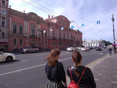 サンクトペテルブルクに行って来ました