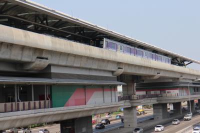 バンコクの休日、MRTパープルライン乗車、夜はアジアティークに行ってみる。