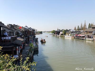 上海から地下鉄で行ける水郷古鎮・朱家角