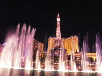 ラスベガスでギャンブル無し②パリとニューヨークにエジプトまで…