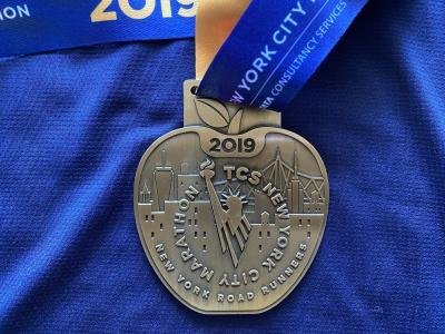 ニューヨークシティマラソン2019当日移動フェリー・バス・スタート・ゴール地図寒さ待ち時間対策