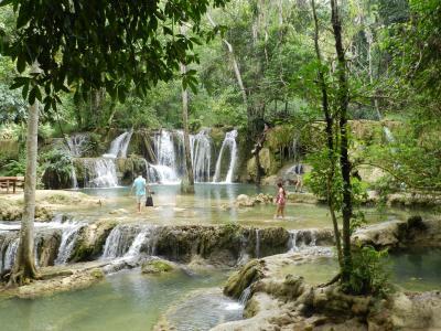 ルアン近郊のもう一つの滝『セーの滝』◆ラオス/ルアンパバーンで滝めぐり&街歩き《その9》