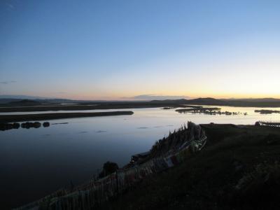 2019夏、東チベット(3)若尓盖のタッツァ・ゴンパと唐克:黄河九曲第一湾