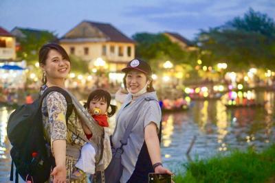 家族旅行♪初めてのベトナム・ダナン♪1歳3歳5歳9歳子連れで海外4泊6日旅行に行ってみた!ホイアン編