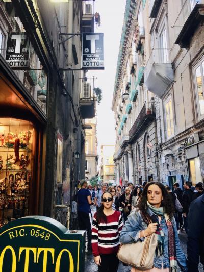 Chao! 初イタ-リア 行って見なけりゃわからない!  Napoliは不思議な魅力に溢れる街だった。