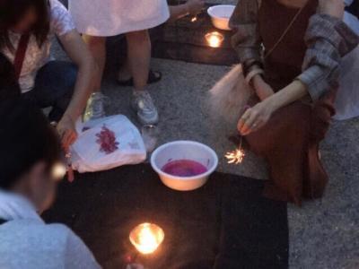 埼玉・川越の縁むすび花火2019~線香花火のイベント~