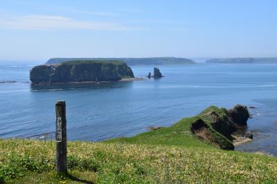 霧多布岬・アゼチの岬の美しい景観2019~琵琶瀬湾と浜中湾の異なった眺望~(道東)