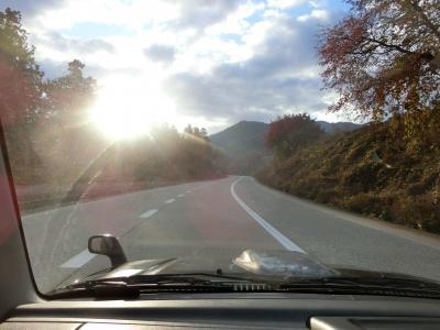 晩秋の志賀高原へ。①まずは湯田中で一泊してから志賀高原へ。