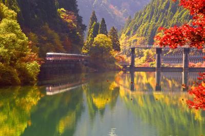 錦秋の飛騨金山・下原ダムとJR高山本線沿線に広がる紅葉を探しに訪れてみた