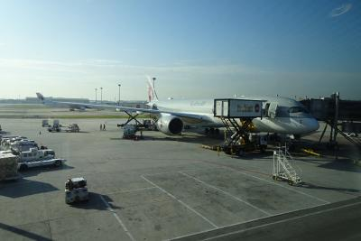 【フライト編③】A350-Qsuiteに搭乗 クアラルンプール→ドーハ  ~ワンワールド世界一周航空券で2ヶ月の旅