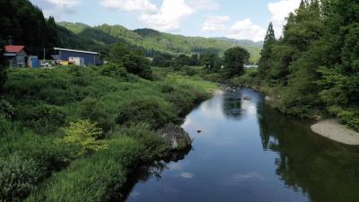 飛騨川の清流~絶景めぐり~岐阜県,高山市,久々野町