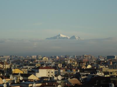 イタリア旅行1日目、ミラノ、メレニャーノ、サロンノへ