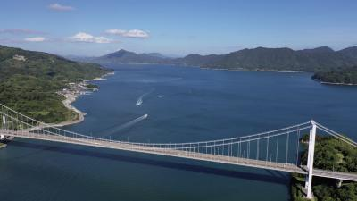 伯方・大島大橋,しまなみ街道~愛媛県,道の駅めぐり,夏旅3000キロ2019