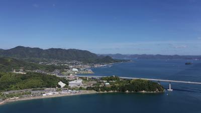 多々羅大橋,世界最大級の斜張橋【しまなみ海道】広島県と愛媛県の県境