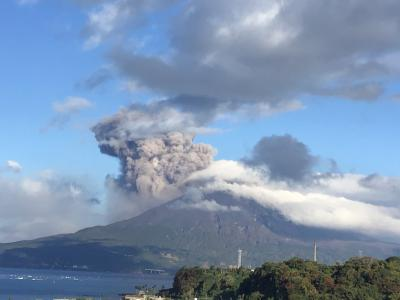 最近桜島があまりにも酷いので見てください