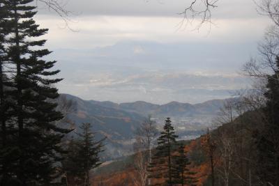 晩秋の志賀高原へ。③ハイキングで旭山へ。