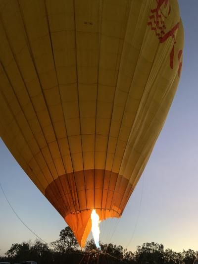 オーストラリアで夏休み vol.4 アサートン高原で熱気球@シャングリラ ザ マリーナ ケアンズ Sep. 2019