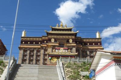 2019夏、東チベット(8)阿壩から中壌塘へ、ザムタン大寺の見学