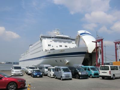 船中6泊!ほぼ日本一周クルーズ・その15.太平洋フェリー「きそ」乗船記(仙台~名古屋)後編。
