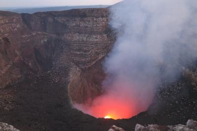 ニカラグア・マサヤ火山とマナグアの街 -2019年 中米 3-