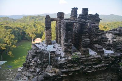 ビバ メヒコ パレンケからボナンパック遺跡へ行きました
