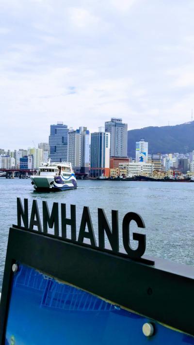 韓国釜山から近隣都市を周遊(一人旅)