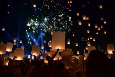 タイのチェンマイ灯籠祭り『ロイ・クラトン』『イーペン・ランナー』~言葉で言い表せない幻想的な世界へ~