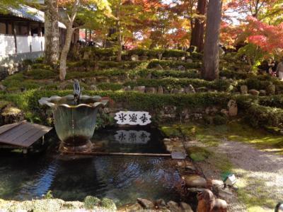 湖東三山〔西明寺〕と永源寺・竹生島の宝厳寺を巡るツアー(1)