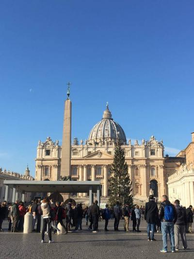 ヨーロッパ イタリア ローマと田舎の旅 2018 その1