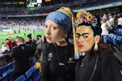RugbyW杯 準決勝参戦!