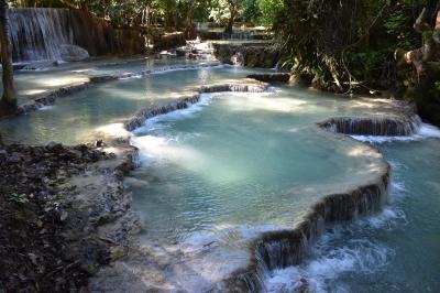 秘境というより観光地だったラオス・ルアンパバーン ~ クアンシーの滝 ~ 2019