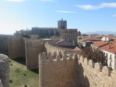 マドリッドの周辺にちらばる城塞都市を回った。3.アヴィラ、城壁