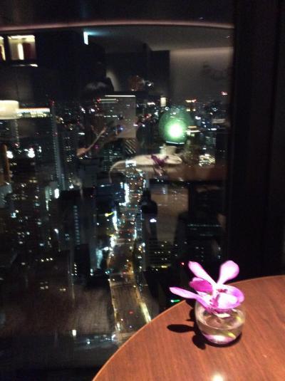 コンラッドホテル大阪 エグデクティブラウンジでホテルステイパート2
