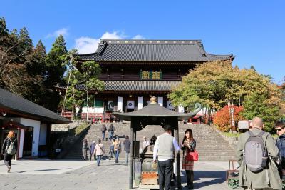 日光の社寺・・天台宗門跡寺院の日光山輪王寺をめぐります。